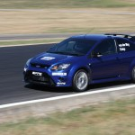 Ford Focus RS-T Winton straight