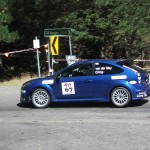 Glyn Crimp tackles the Mt Baw Baw Sprint in his PPE Ford Focus RS-T