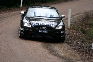 Glyn Crimp Audi TT RS in action at ATRC