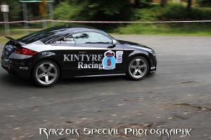 Glyn Crimp PPE Audi TT RS takes Mount Baw Baw ATRC podium